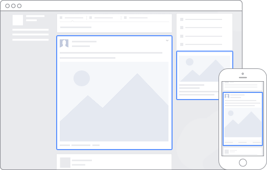 Vị trí quảng cáo Facebook dành cho máy tính và di động