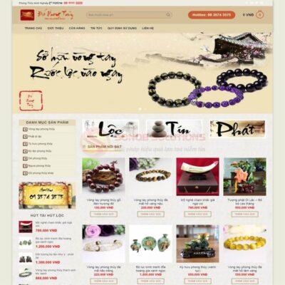 Mau Web Ban Do Phong Thuy Dep